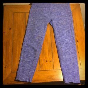 Body Glove leggings (Capri style, purple)